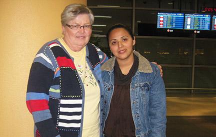 Kerstin and Cristina