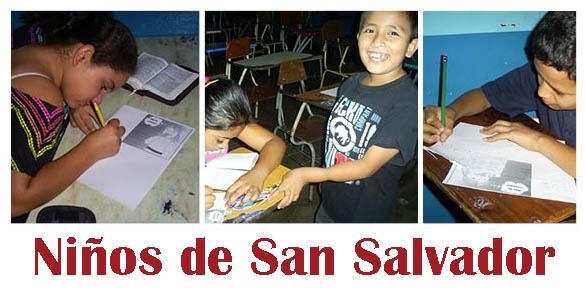ninos del Salvador