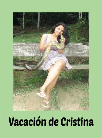 Vacacion de Cristina