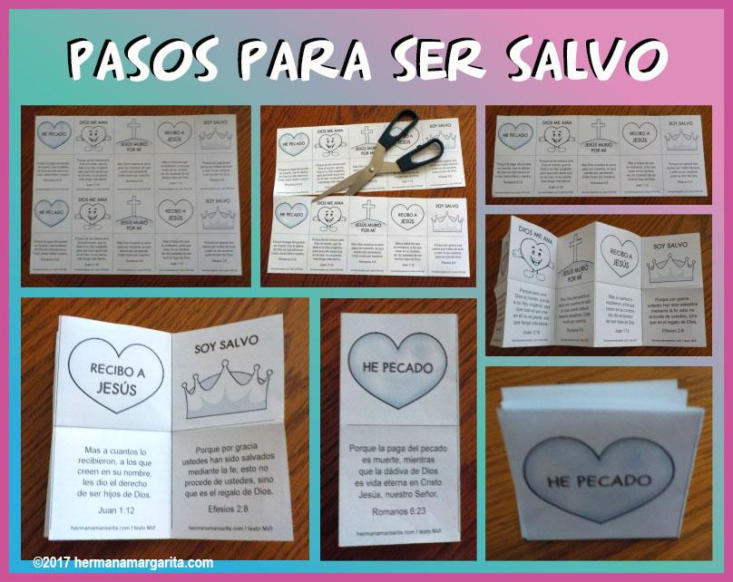 Pasos Para Ser Salvo Caja De Ideas Con Cristina Y Tia Margarita