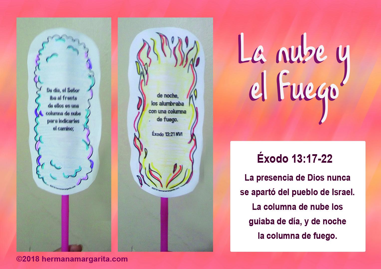 Nube y fuego, presencia de Dios | Caja de Ideas con Cristina y Tía ...