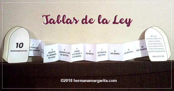 Las Tablas de la Ley | Caja de Ideas con Cristina y Tía Margarita